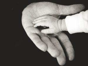 kids hand