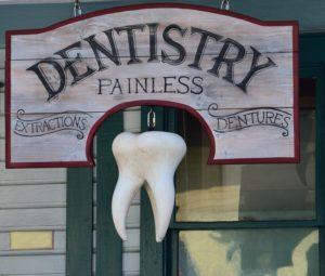 dentistry sign